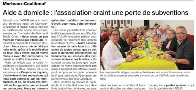 Ouest france admr